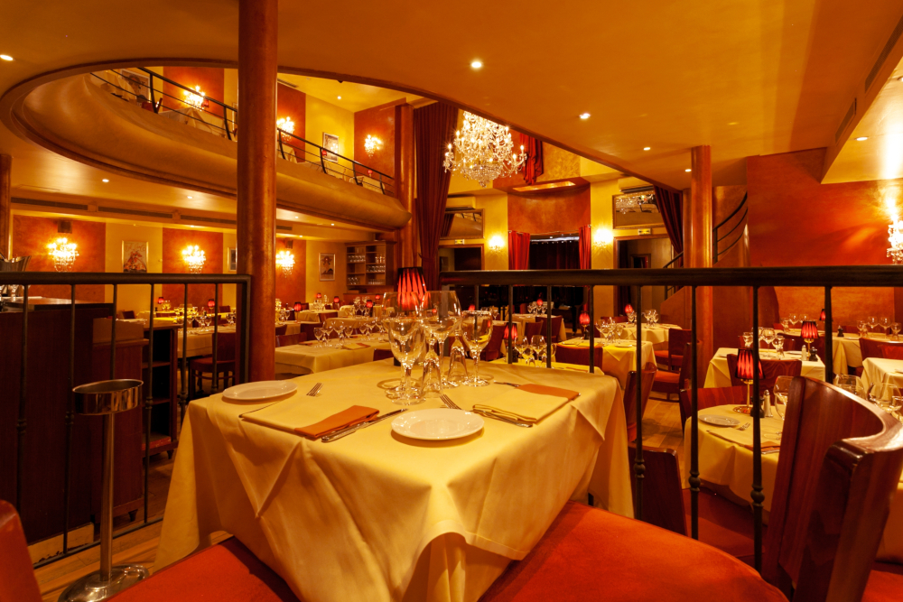 Ambiance du restaurant Bel Canto Neuilly